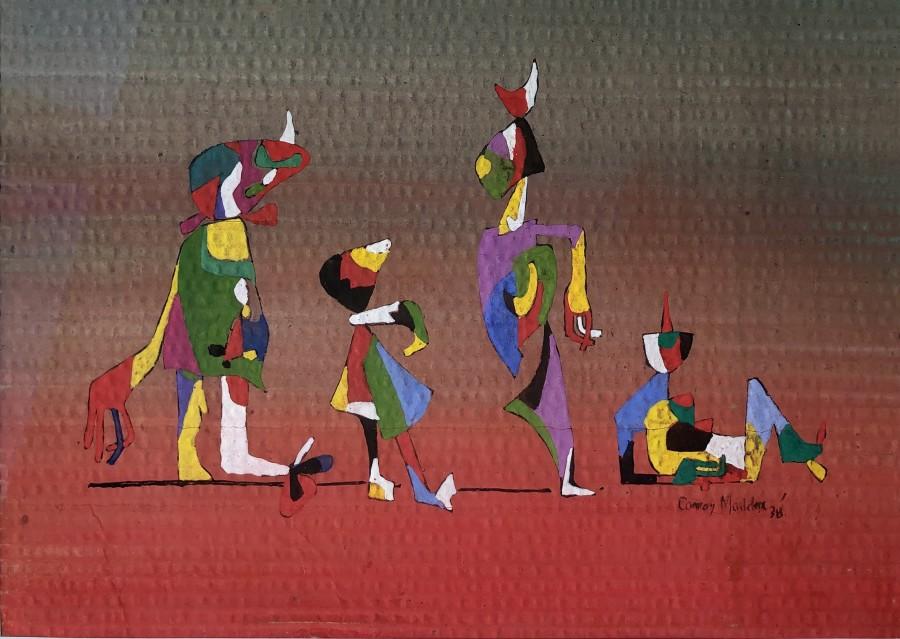 Conroy Maddox, Dancing Figures, 1938
