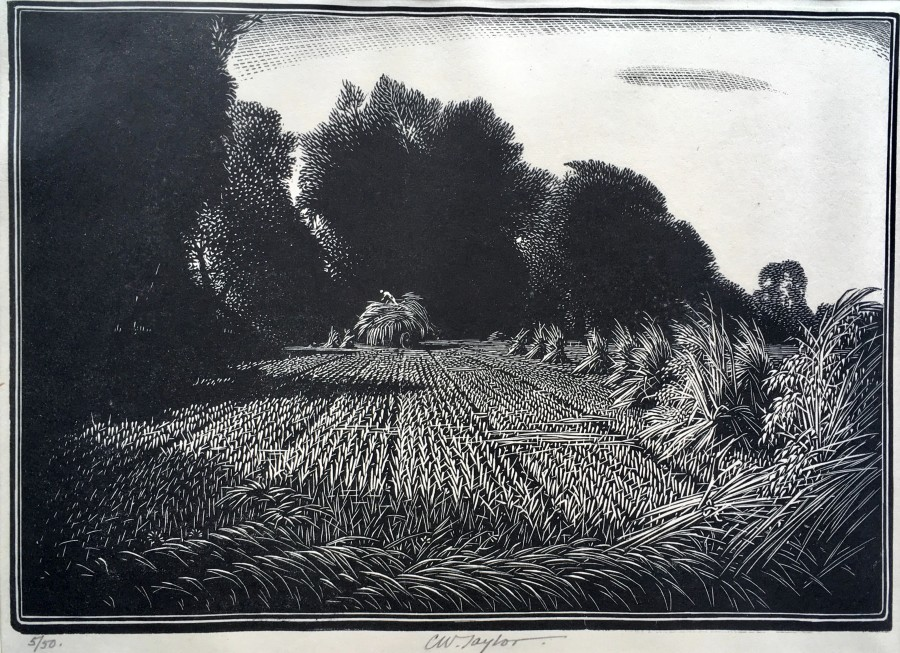 Charles William Taylor, Harvesting, c. 1930