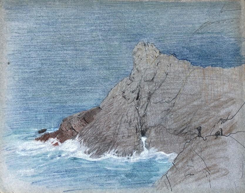 Maxwell Ashby Armfield, Formentor, Mallorca, c. 1920