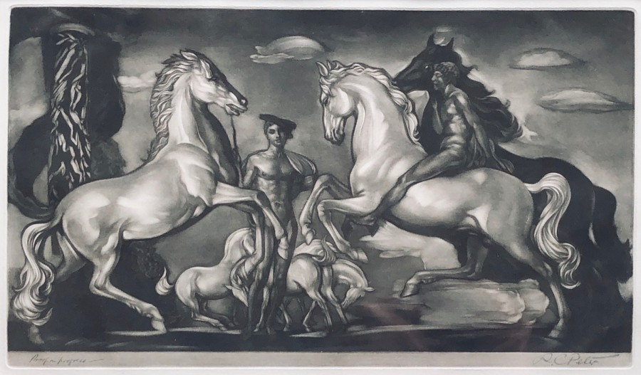 Robert Charles Peter, Horses and Warriors, c. 1925