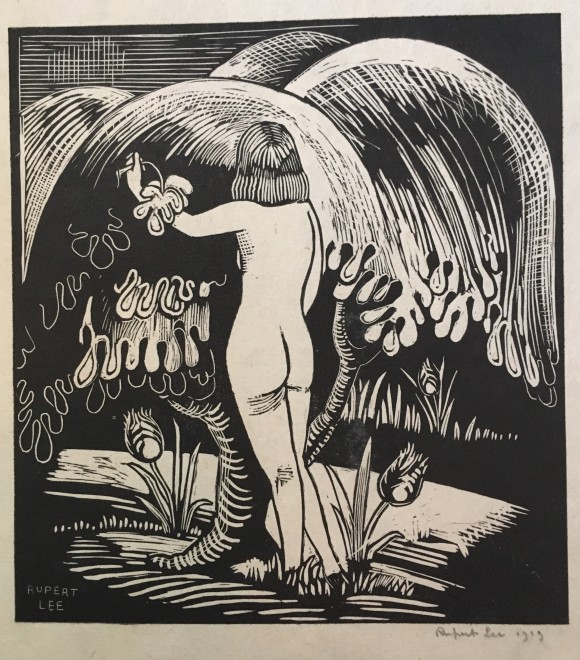 Rupert Lee, Eve, 1919  6.5 x 6 inches