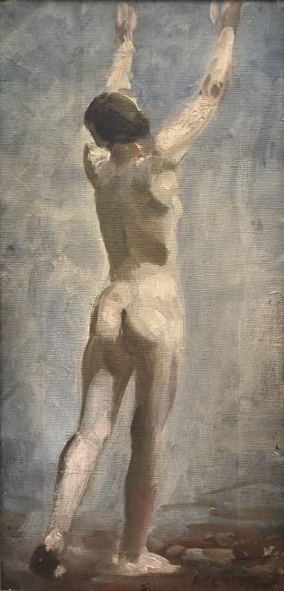 Alfred Egerton Cooper, Nude Study