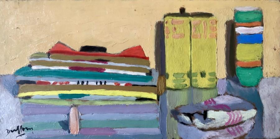 Jacques André Duffour, Still Life - Desk Top, c. 1951
