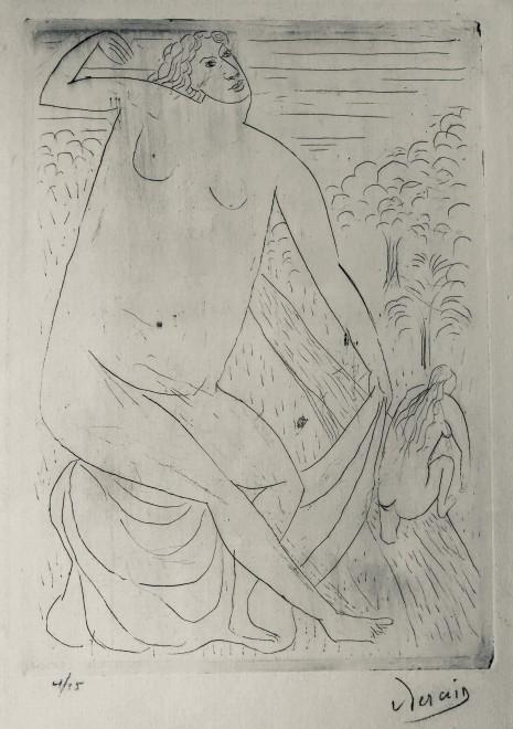 André Derain, Femme nue, c. 1908