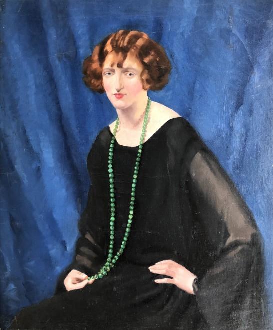 Arthur Royce Bradbury, Green Beads, c. 1930
