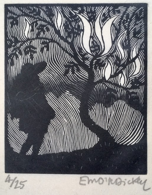 Edward O'Rorke Dickey, Figure and Tree, c. 1925