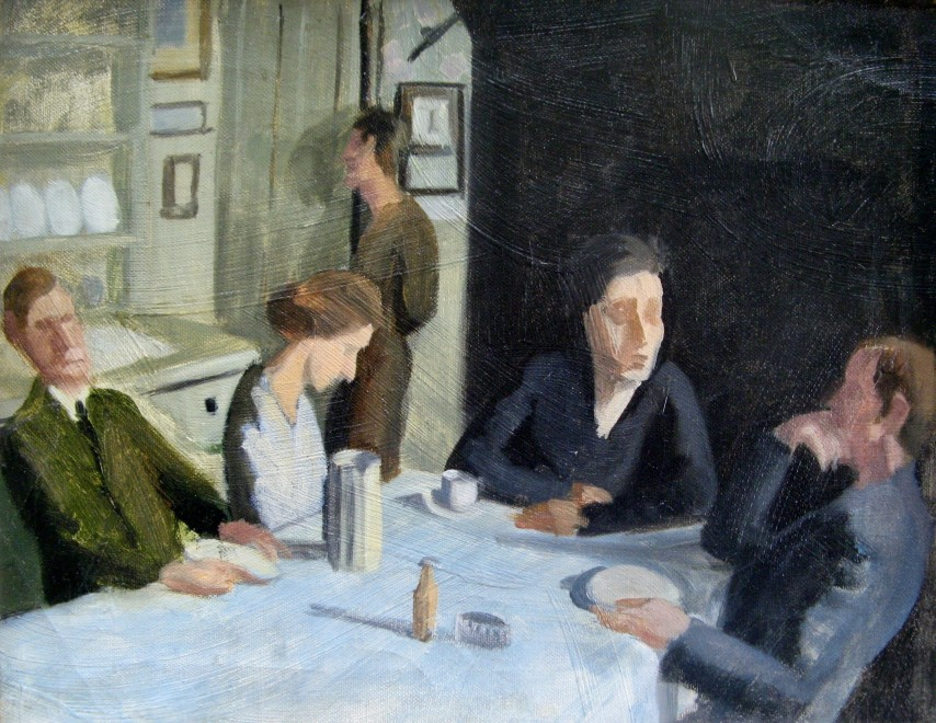 RICHARD CARLINE (1896-1980)  The Carline Family, 47 Downshire Hill, Hampstead, 1923