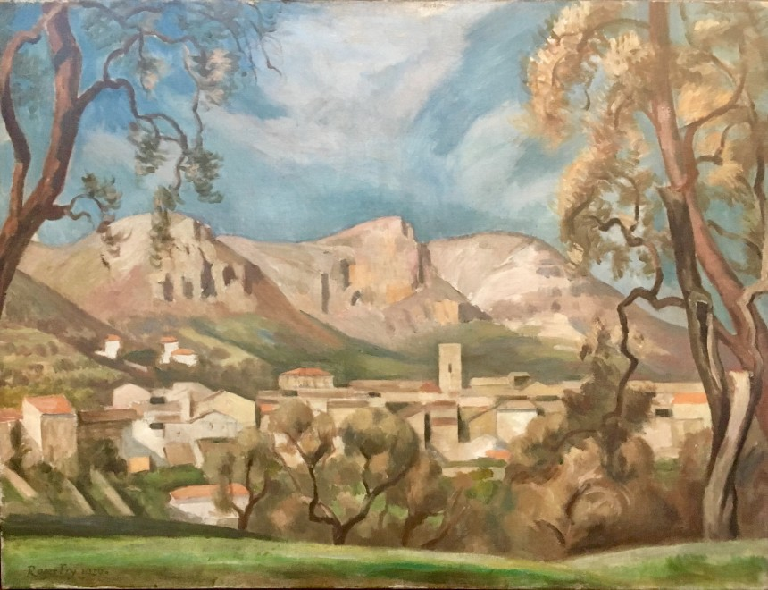 ROGER FRY (1866-1934)  AUTUMNAL LANDSCAPE, SOUTH OF FRANCE, 1920  SOLD
