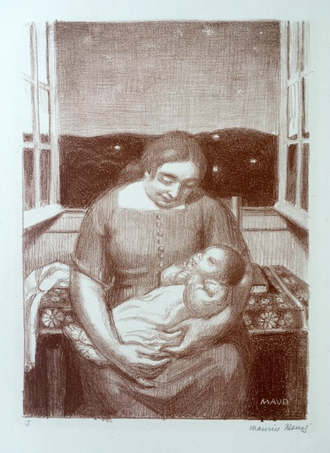 MAURICE DENIS (1870-1943)  MATERNITÉ