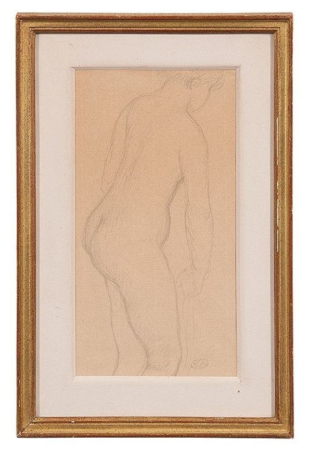ARISTIDE MAILLOL (1861–1944)  STANDING NUDE