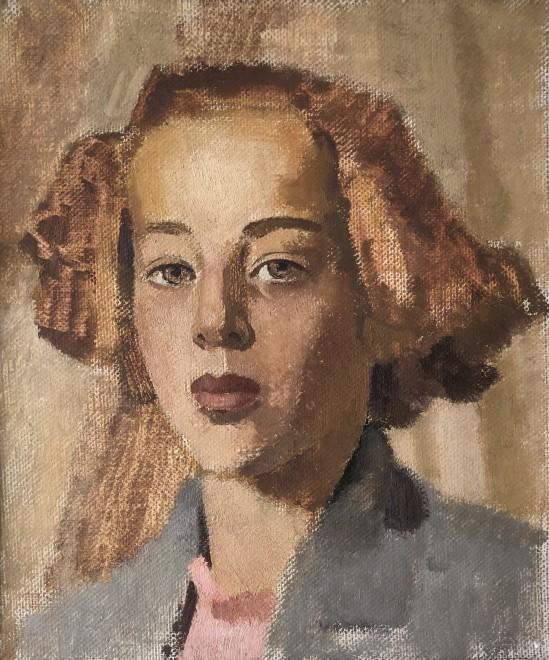 Neville Lewis, Portrait Study (Etude 4), c. 1930s