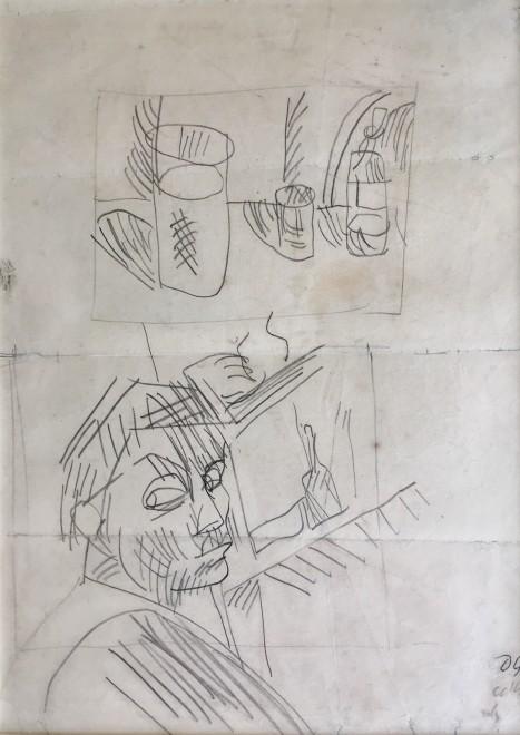 Duncan Grant, Postmen; Poster I (Set of Four), 1939