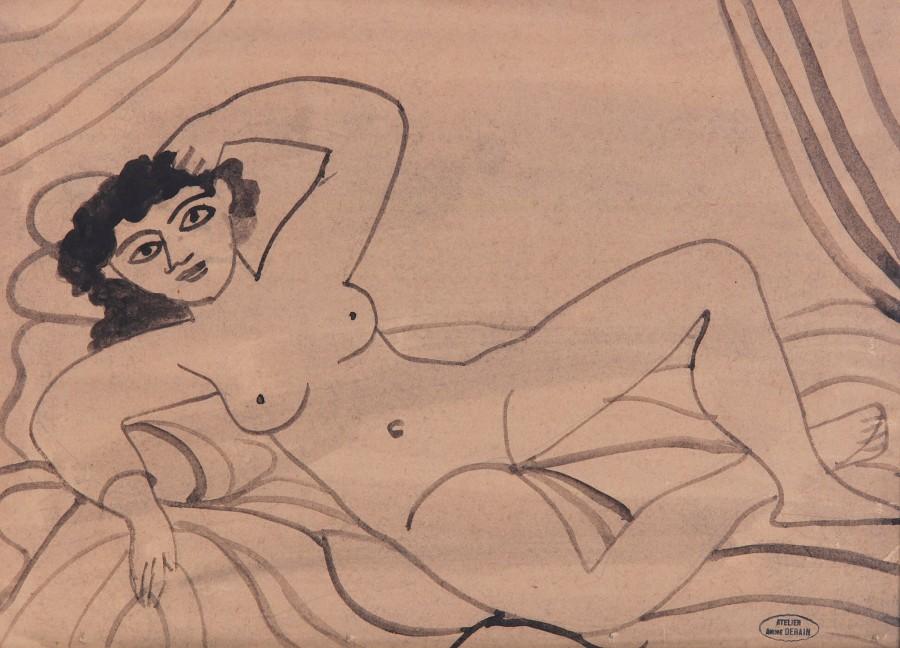 André Derain, Nu Allonge, 1945