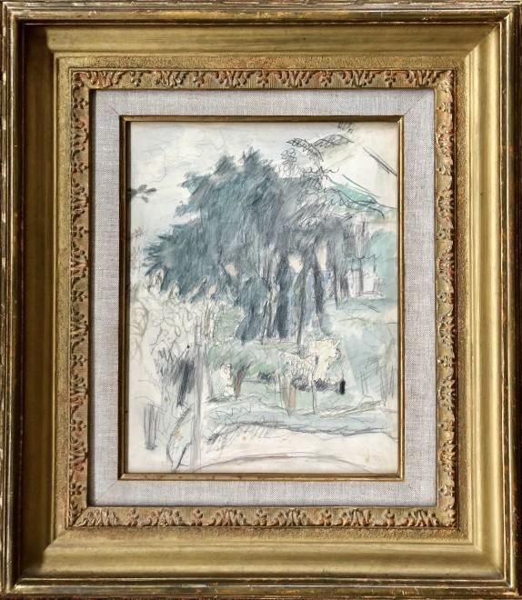 Pierre Bonnard, Landscape at Le Cannet, c. 1930