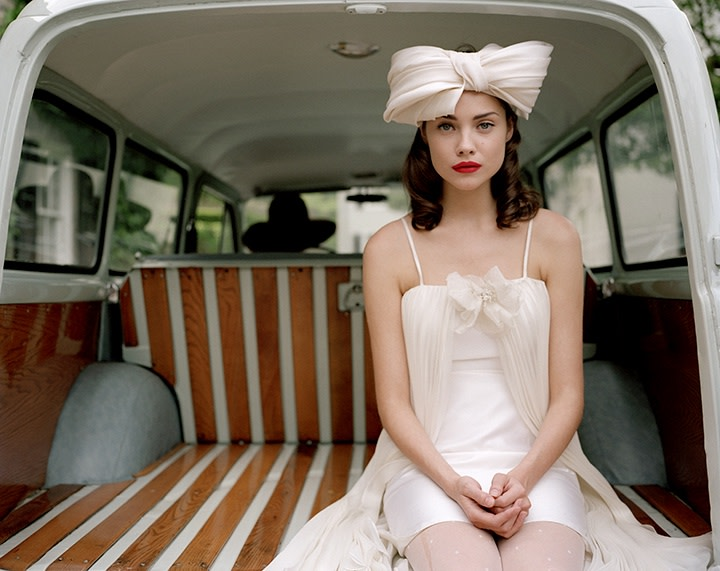 Irena Seated in the Back of Car No. 1, Snedens Landing, New York