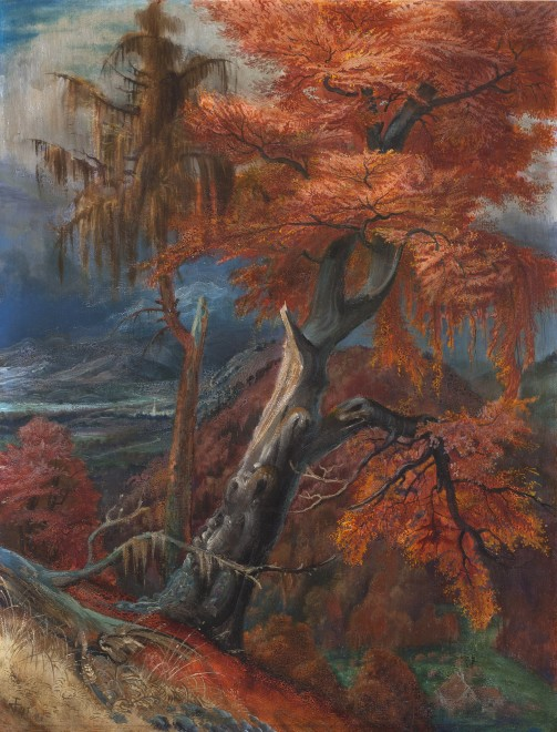Otto Dix  Zerschmetterter Baum (Shattered Tree)