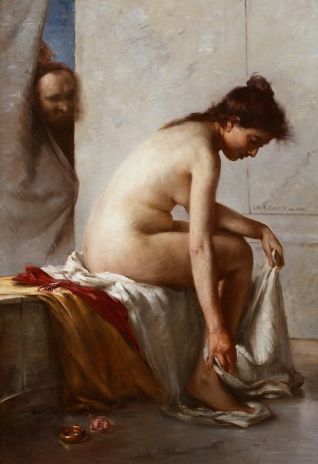 Lovis Corinth  Susanna at her Bath