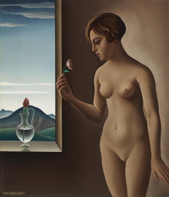 Josef Mangold  Nude by a Window
