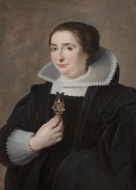 Portrait of a Lady dressed in Black