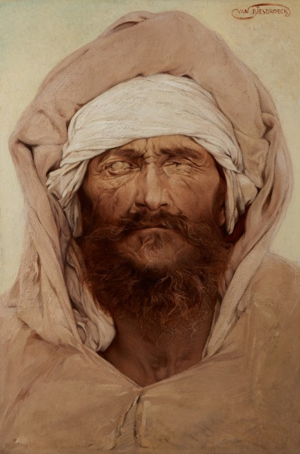 Portrait of a Blind Arab