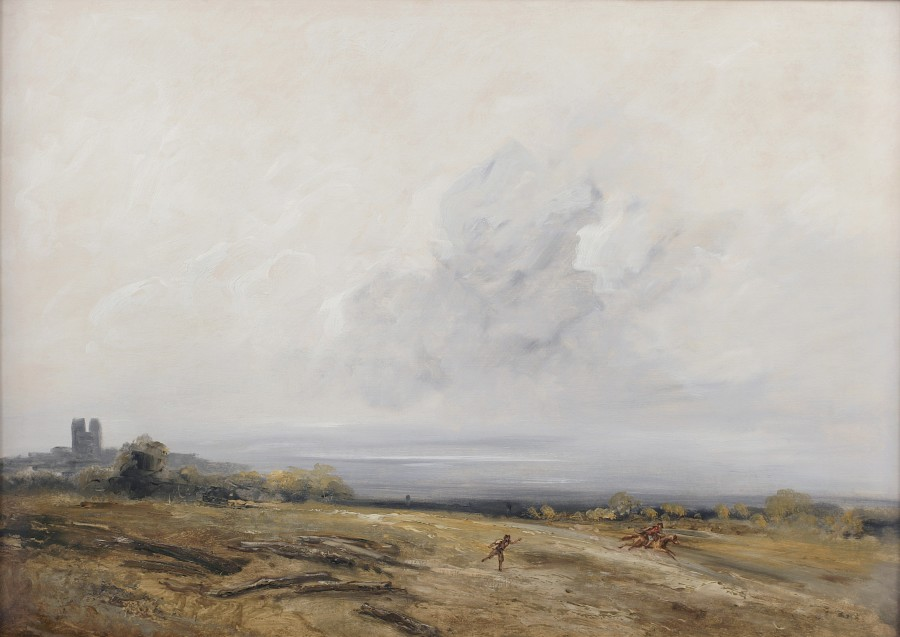 Man and Rider in a Landscape