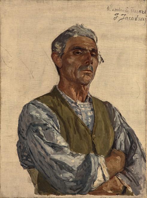 Portrait of a Man (The Sculptor Ettore Ferrari?)