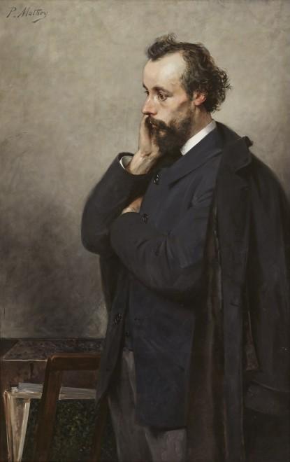 Portrait of Löys-Henri Delteil