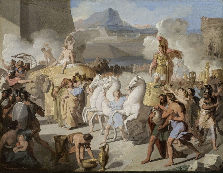 A Roman Triumphal Entry, Possibly of Marcus Claudius Marcellus