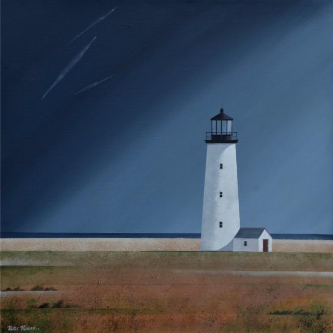 Nantucket light  20 x 20 ins  £2,750