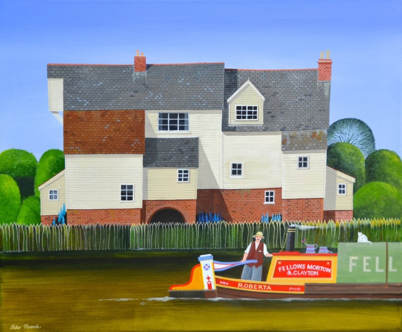 Stour Mill  20 x 24 ins  £3,000
