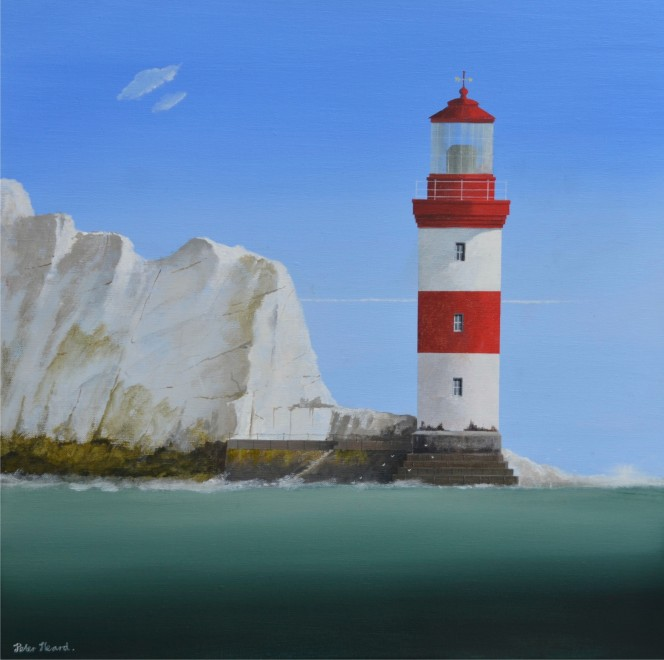 The Needles  20 x 20 ins  SOLD