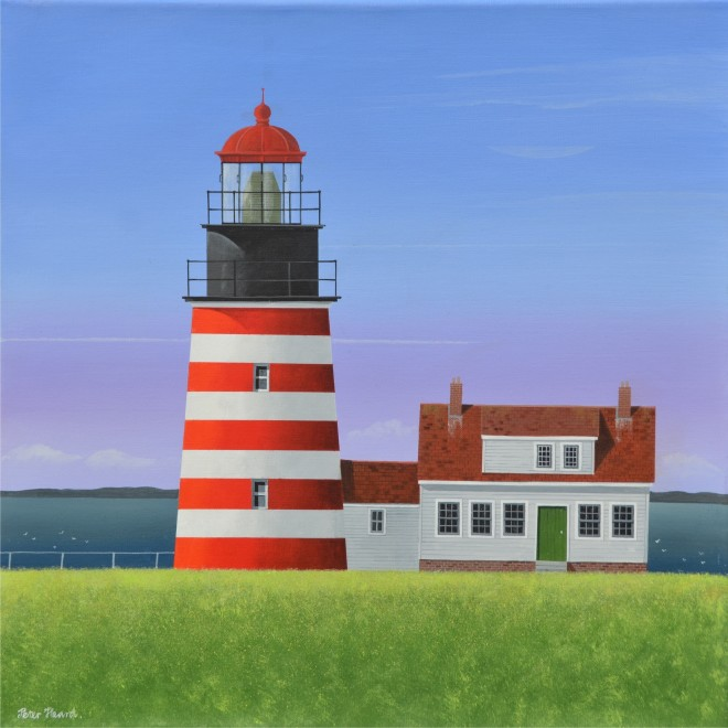 West Quoddy Head  20 x 20 ins  £2,750