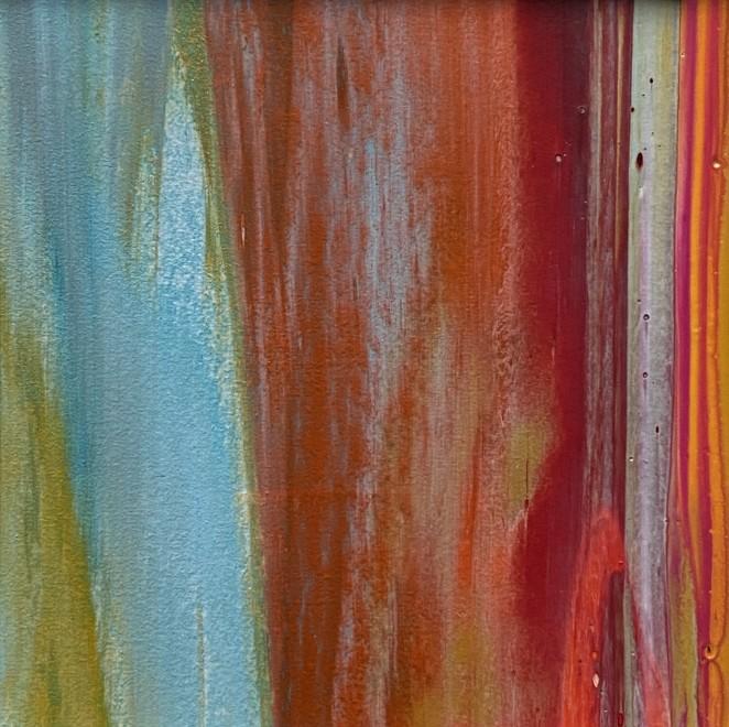 Lisa Sharpe, Autumn Orange with Eau de Nil II, 2020