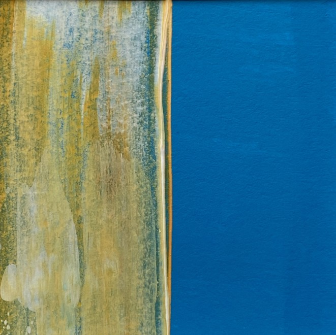 Lisa Sharpe, Zen Blue, 2020