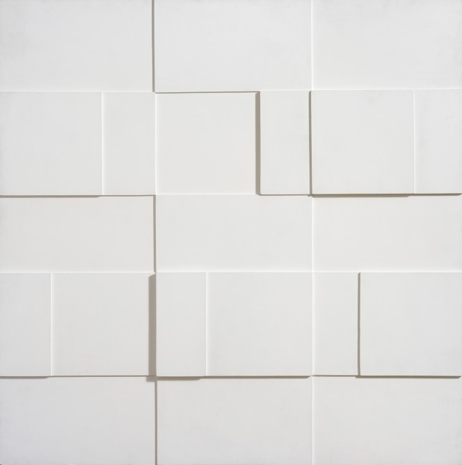 <p><strong>Jean Spencer</strong>, <em>White Relief</em>, 1969</p>