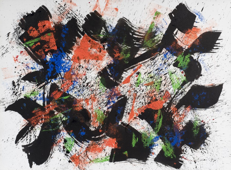 <p><strong>William Gear</strong>, <em>Untitled</em>, 1958</p>