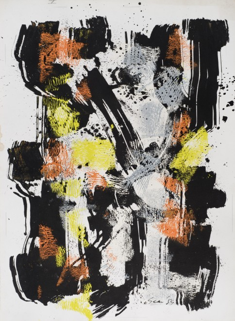 <p><strong>William Gear</strong>, <em>Untitled</em>, 1959&#160;</p>