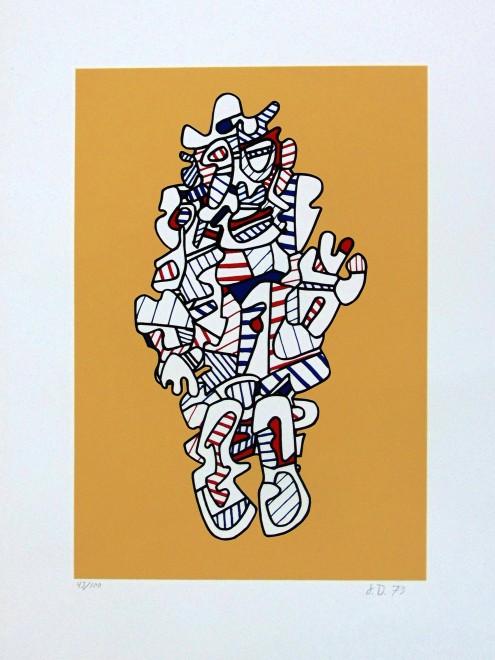 <p><strong>Jean Dubuffet</strong>,<em>Denagator, from: Présences Fugaces</em>, 1973</p><p></p>