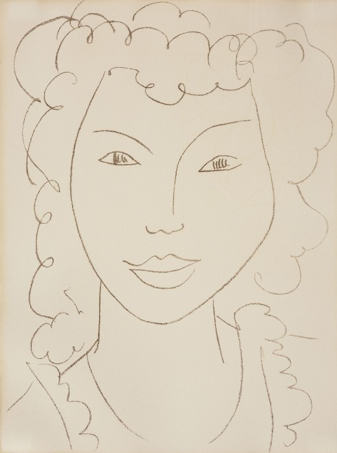 <p><strong>Henri Matisse</strong>,&#160;<em>Au Coin d&#8217;une Rue - At the Street Corner-Young Girl</em>, 1946-1953</p>