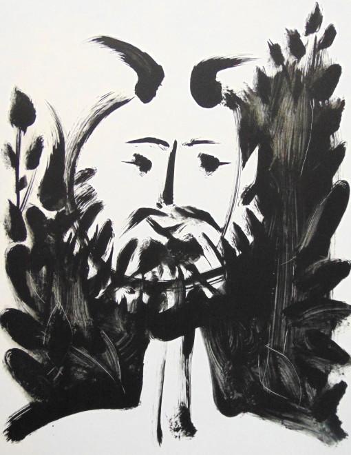 <p><strong>Pablo Picasso</strong>,&#160;<em>Smiling Faun | Faune Souriant</em>, 1948</p>