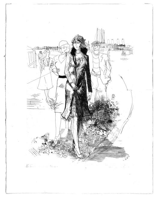 <p><strong>Anthony Gross</strong>, <em>Sortie d'Usine</em>, 1931</p>