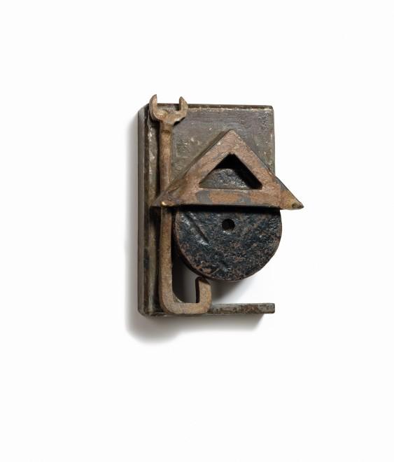 <p>Sneishkha</p><p>2014</p><p>Welded steel</p><p>31 x 22 x 11 cm</p>