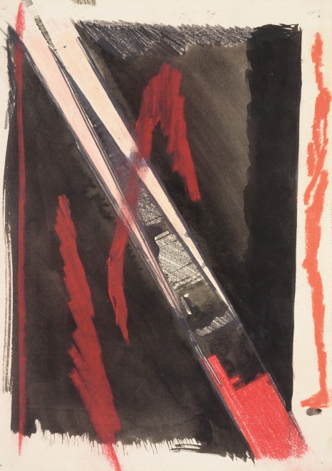 "<span class=""artist""><strong>Patrick Procktor RA</strong></span>, <span class=""title""><em>Moving Figure Study I</em>, 1963</span>"