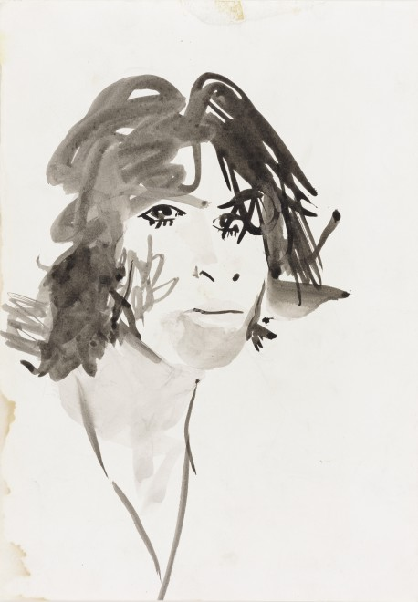"<span class=""artist""><strong>Patrick Procktor RA</strong></span>, <span class=""title""><em>Ossie Clark</em>, 1967</span>"