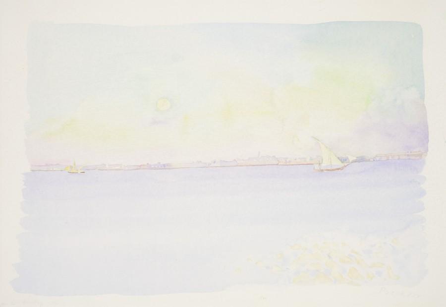 <span class=&#34;artist&#34;><strong>Patrick Procktor RA</strong></span>, <span class=&#34;title&#34;><em>Bombay 7.15 am</em>, 1970</span>