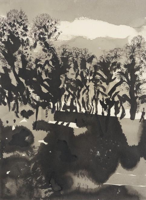 "<span class=""artist""><strong>Patrick Procktor</strong></span>, <span class=""title""><em>Untitled (Landscape)</em>, c.2002</span>"