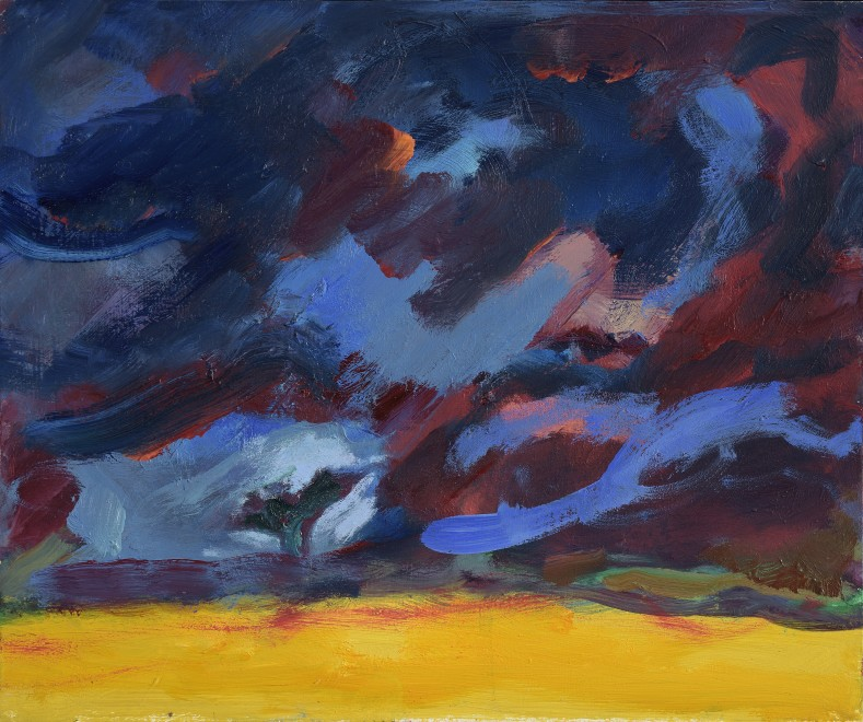 Storm over the Cornfield
