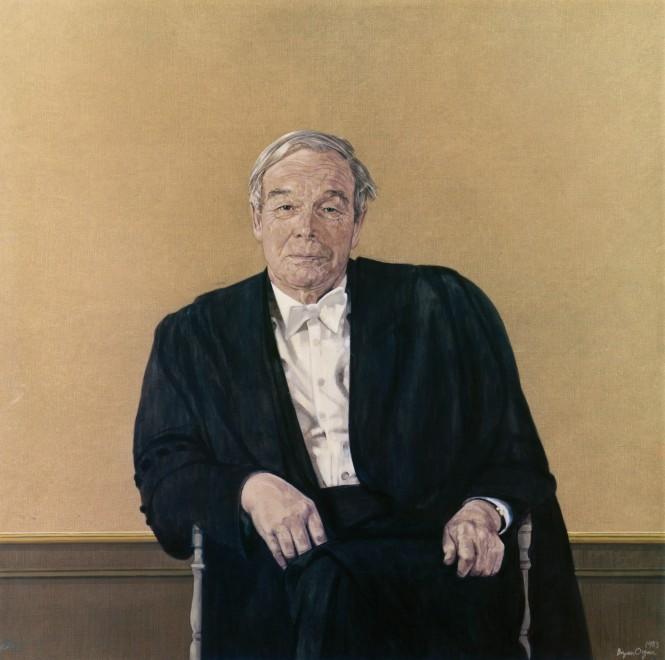 Sir Alan Hodgkin, Chancellor of the University of Leicester