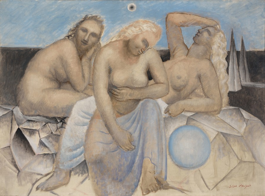 "<span class=""artist""><strong>Glyn Warren Philpot RA</strong></span>, <span class=""title""><em>The Three Fates</em>, 1933</span>"