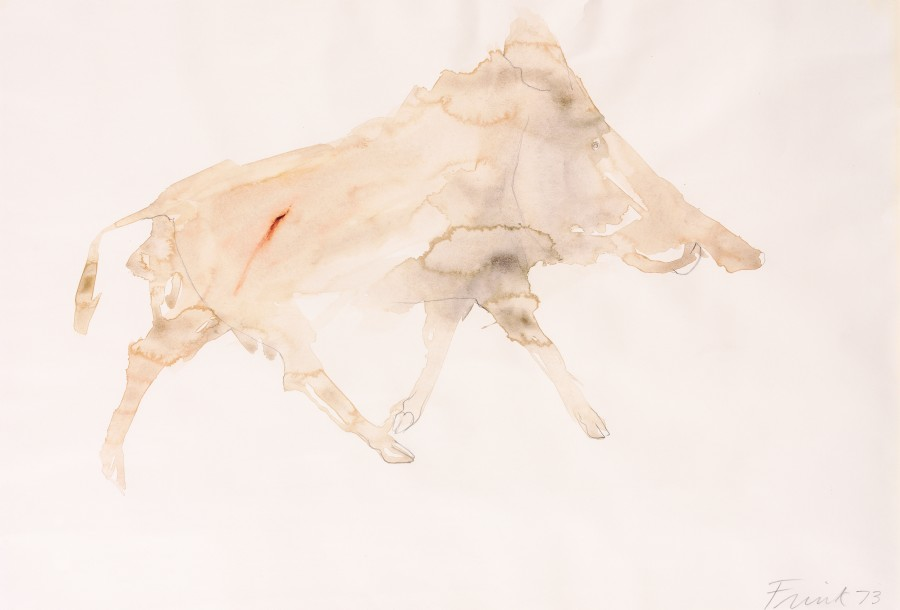 <span class=&#34;artist&#34;><strong>Elisabeth Frink</strong></span>, <span class=&#34;title&#34;><em>Wild Boar II</em>, 1973</span>